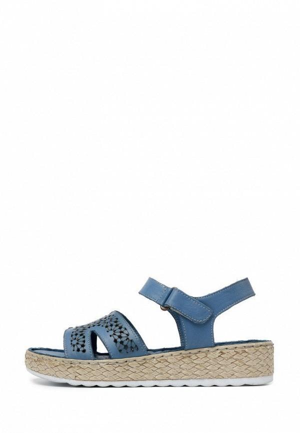 женские сандалии pierre cardin, голубые