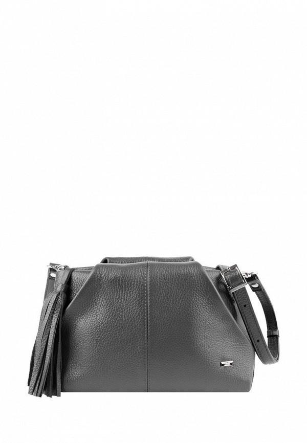 женская сумка через плечо esse, серая