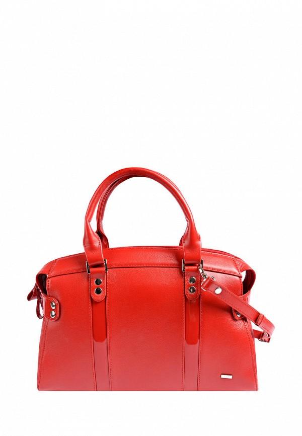 женская сумка с ручками esse, красная
