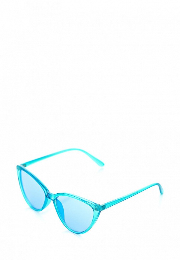 женские солнцезащитные очки luckylook, голубые