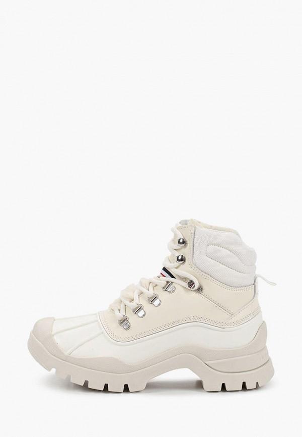 женские ботинки tommy hilfiger, белые