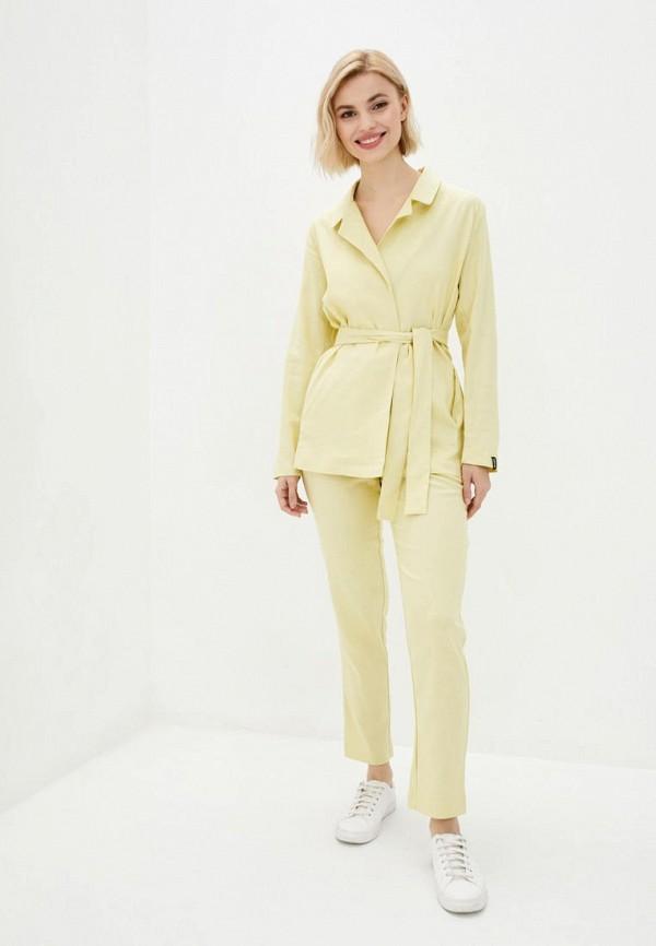 женский костюм garne, желтый