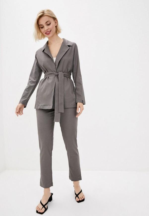 женский костюм garne, серый
