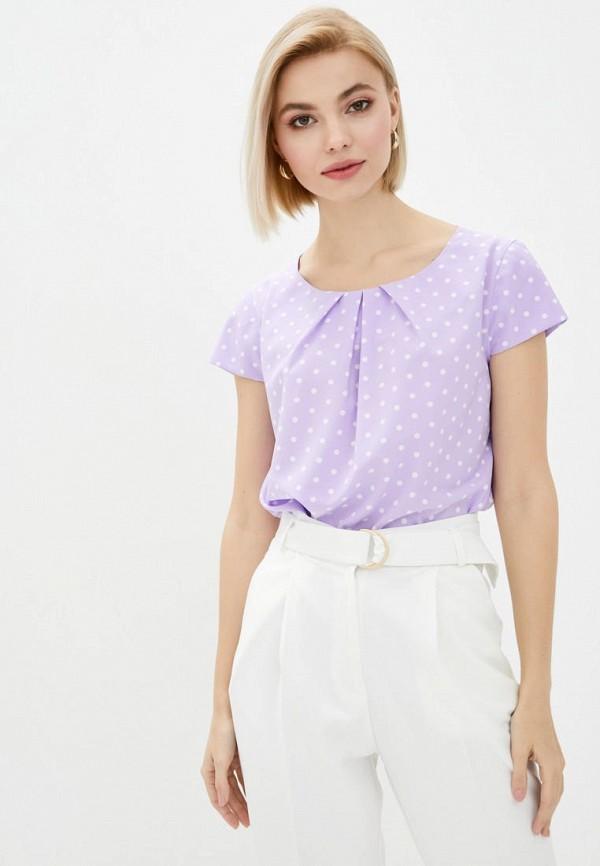 женская блузка zubrytskaya, фиолетовая