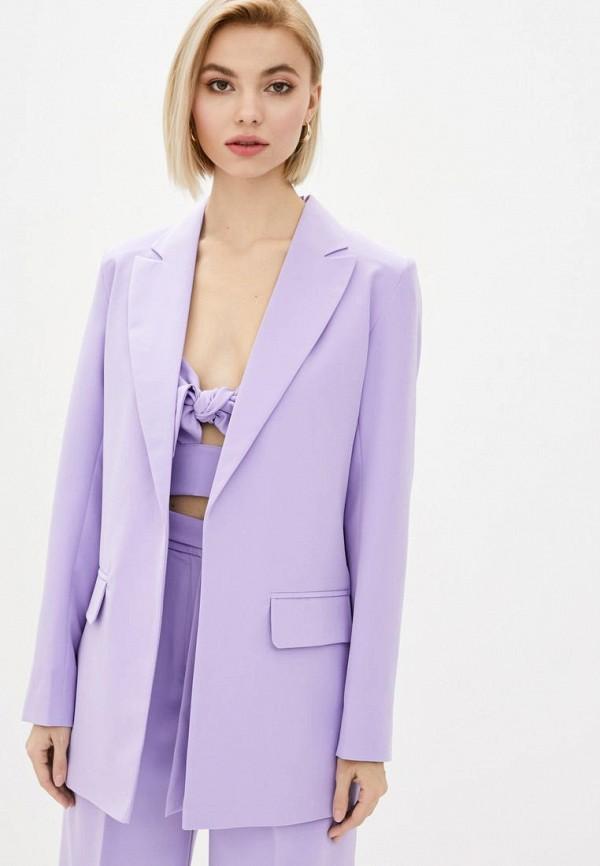 женский пиджак zubrytskaya, фиолетовый
