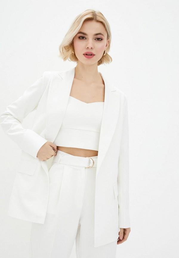 женский пиджак zubrytskaya, белый