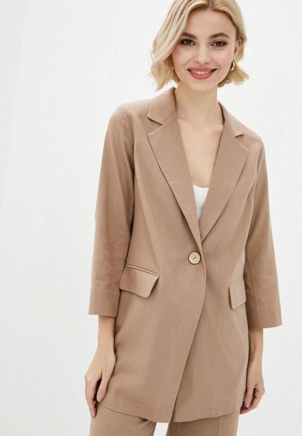 женский пиджак zubrytskaya, бежевый