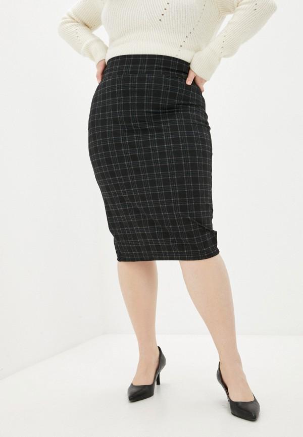 женская прямые юбка sparada, черная