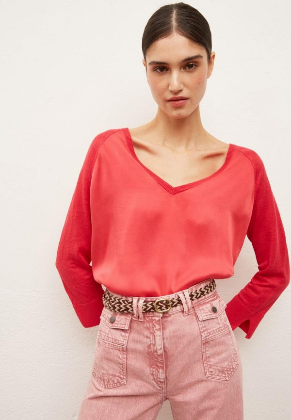 женский пуловер gerard darel, красный
