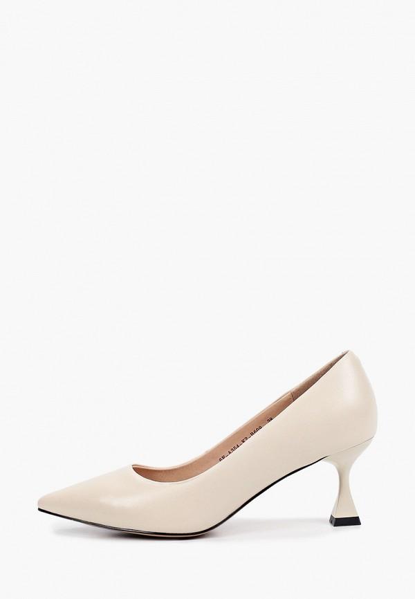 женские туфли-лодочки helena berger, бежевые