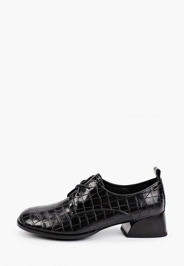 женские низкие ботинки helena berger, черные