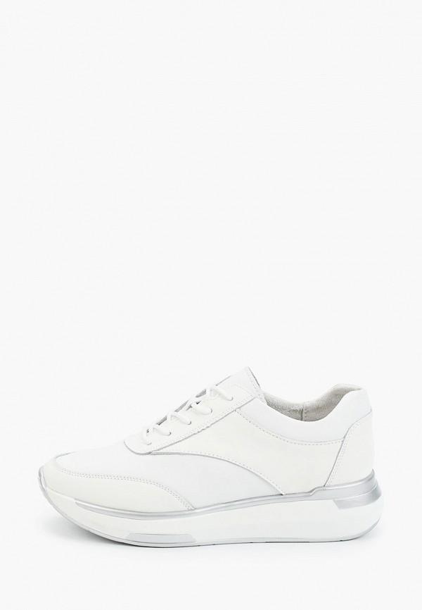 женские низкие кроссовки helena berger, белые