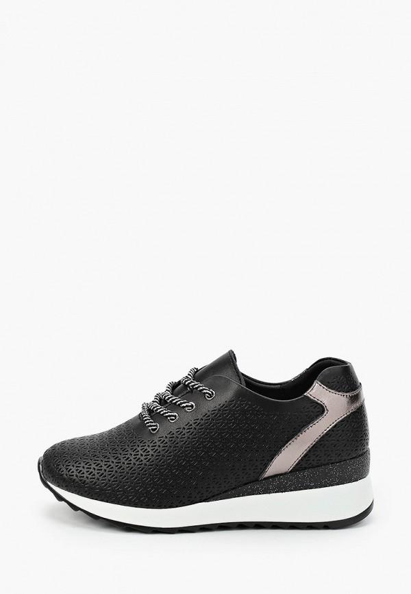 женские низкие кроссовки helena berger, черные