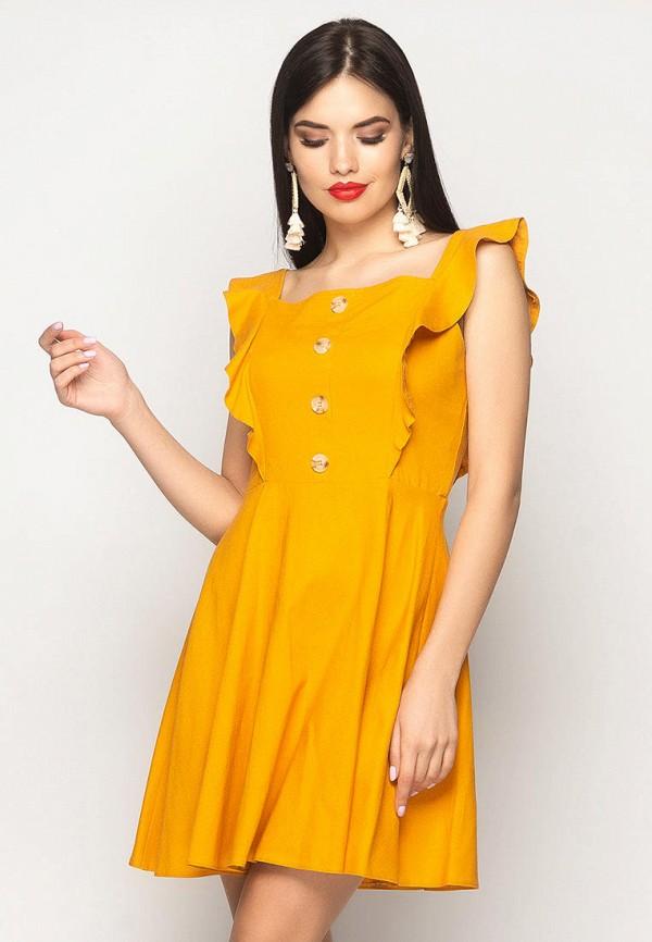 женский сарафан larionoff, оранжевый
