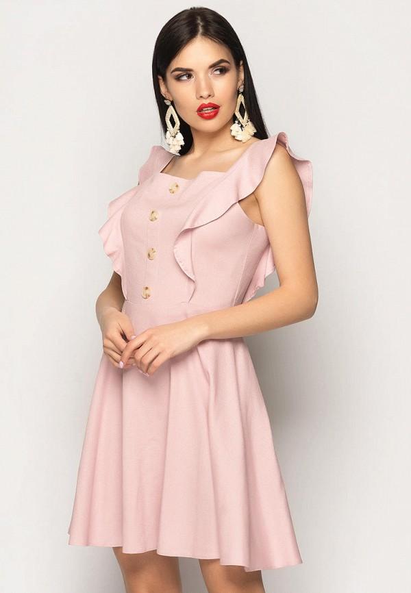 женский сарафан larionoff, розовый