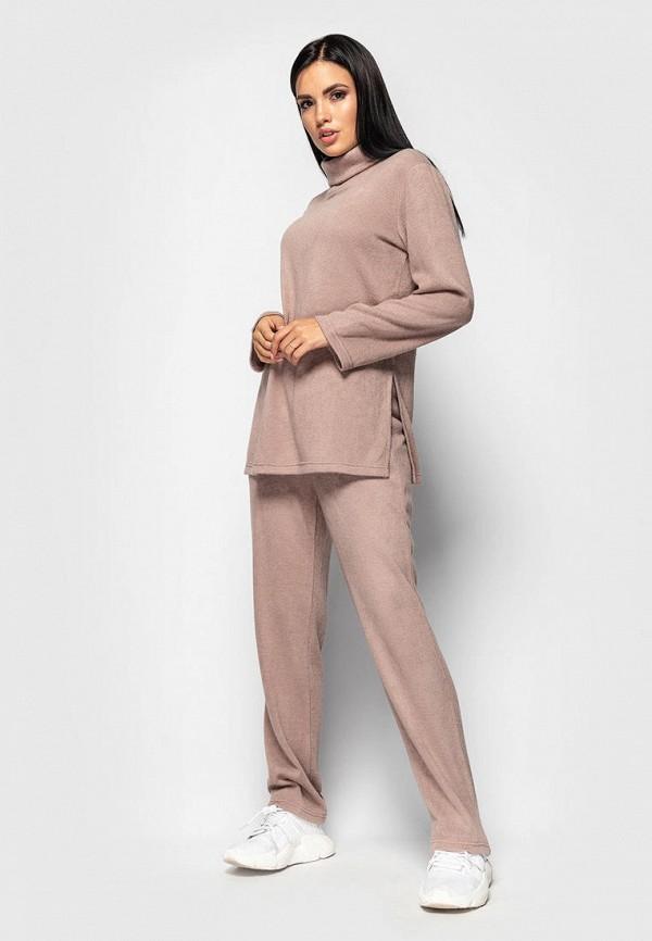 женский костюм larionoff, розовый