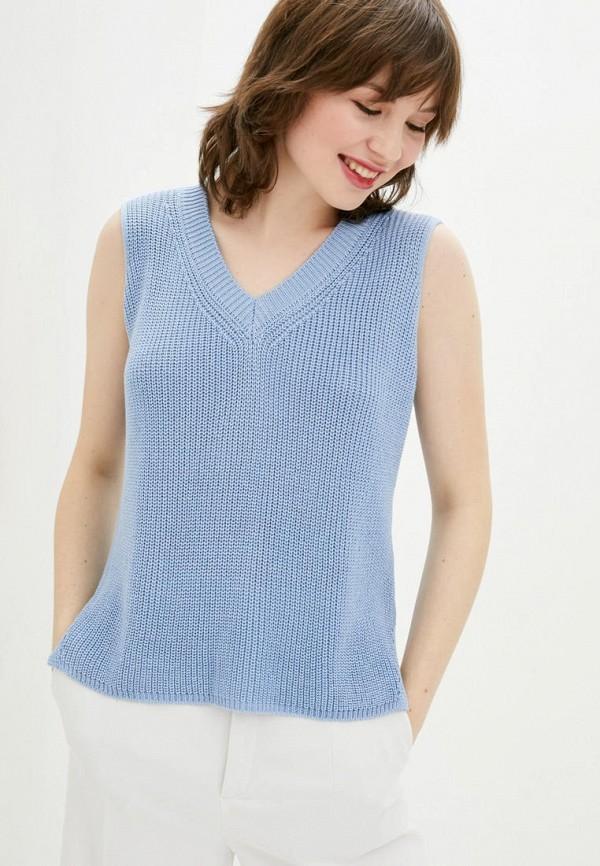 женский жилет sewel, голубой