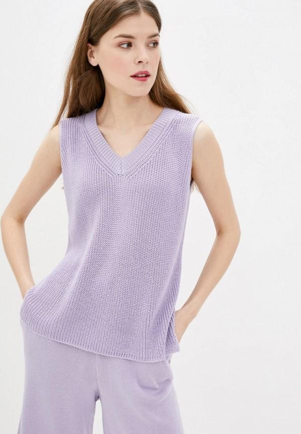 женский жилет sewel, фиолетовый