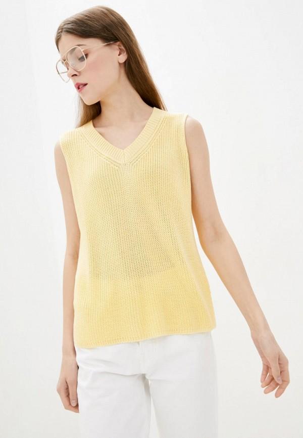 женский жилет sewel, желтый