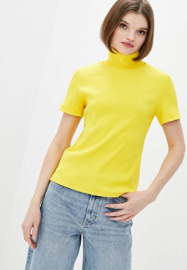 женская водолазка garne, желтая