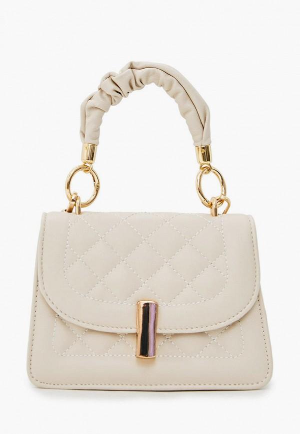 женская сумка garne, бежевая