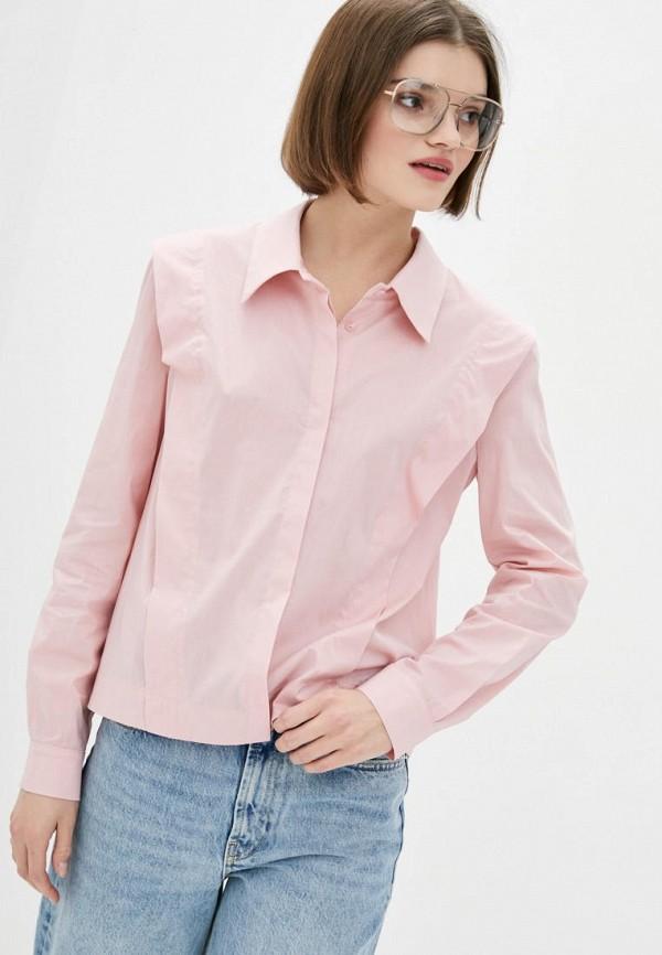женская блузка berdichevski, розовая