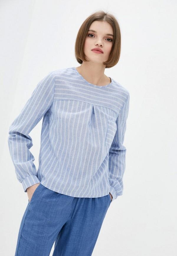 женская блузка berdichevski, голубая
