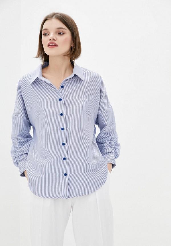 женская блузка berdichevski, синяя
