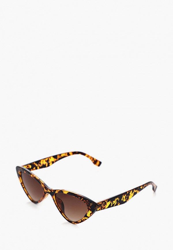 женские солнцезащитные очки luckylook, коричневые
