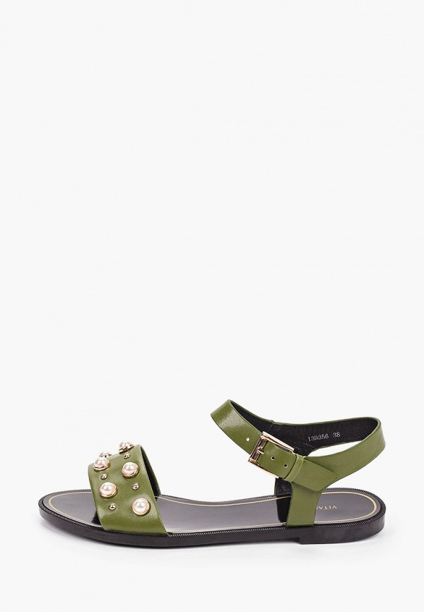 женские сандалии vitacci, хаки