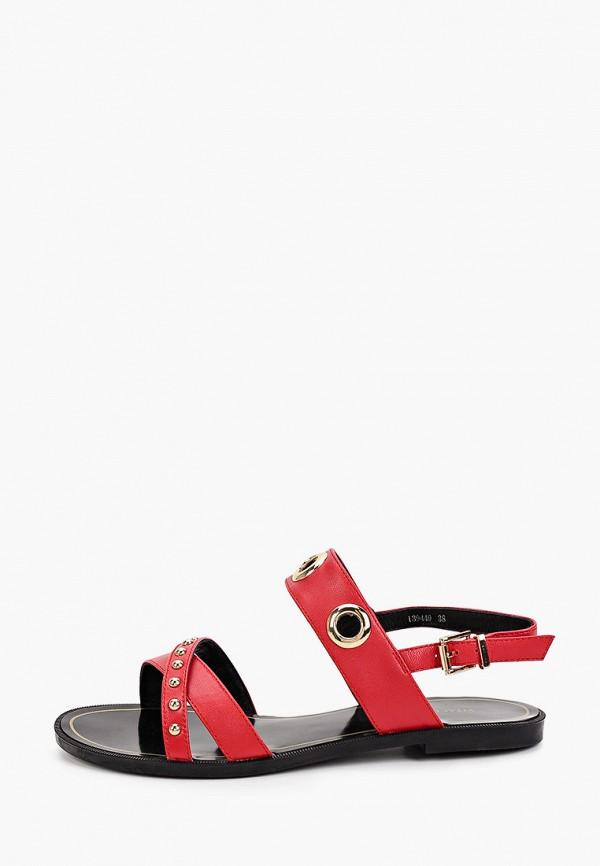 женские сандалии vitacci, красные