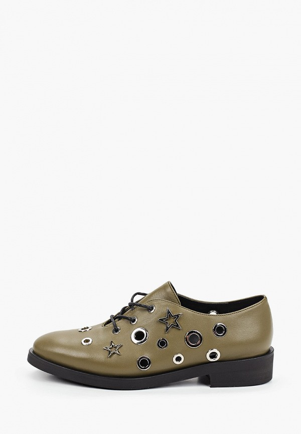 женские ботинки-оксфорды vitacci, хаки