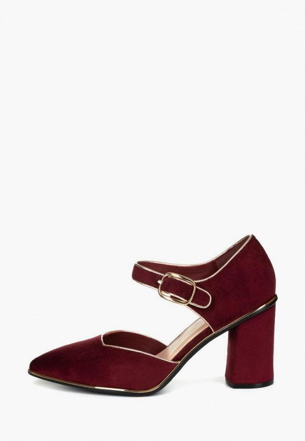 женские туфли t.taccardi, бордовые