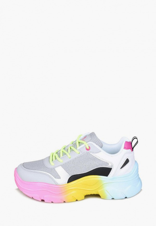 женские высокие кроссовки timejump, разноцветные