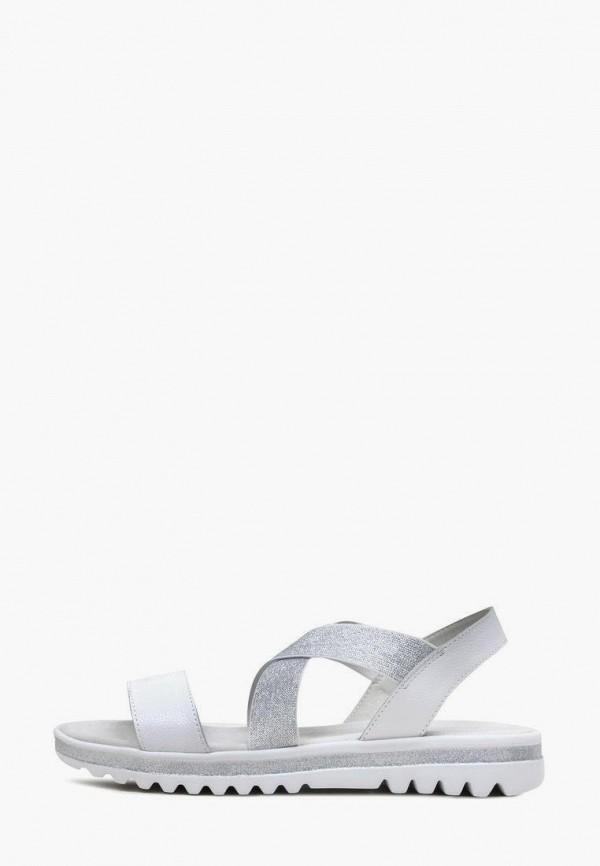 женские сандалии alessio nesca, серебряные