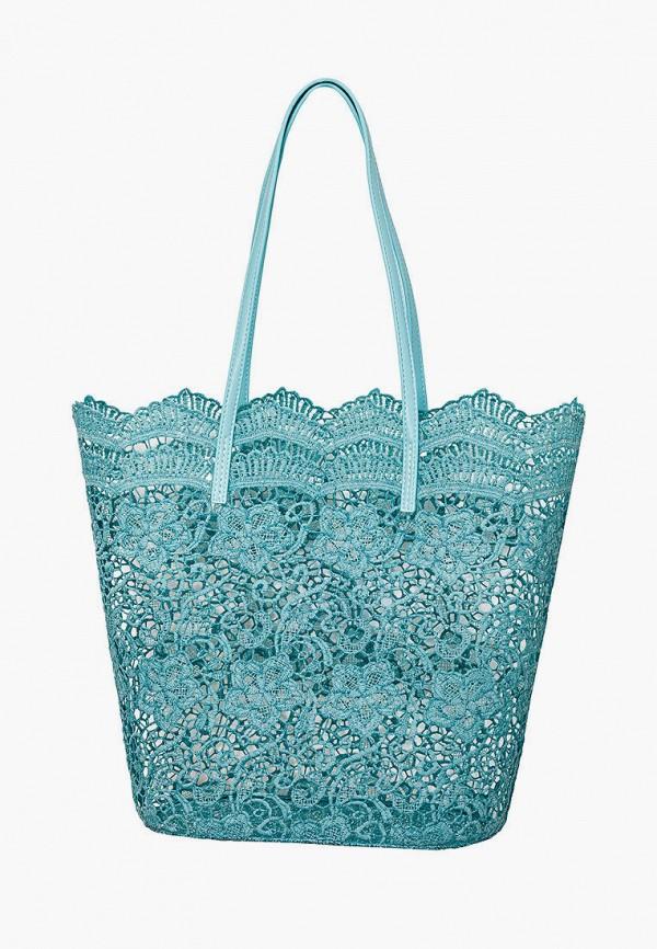 женская пляжные сумка marc&andre, бирюзовая
