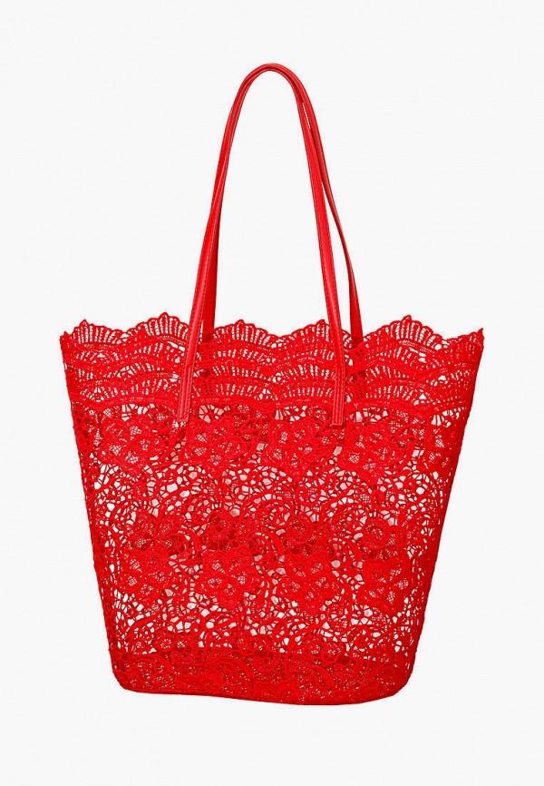 женская пляжные сумка marc&andre, красная