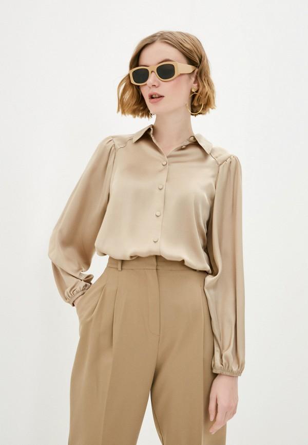 женская блузка с длинным рукавом vittoria vicci, бежевая