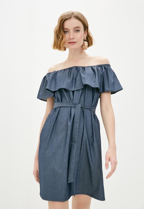 женское платье vittoria vicci, синее