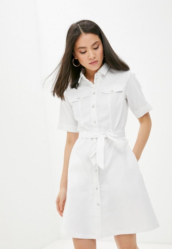 женское джинсовые платье vittoria vicci, белое