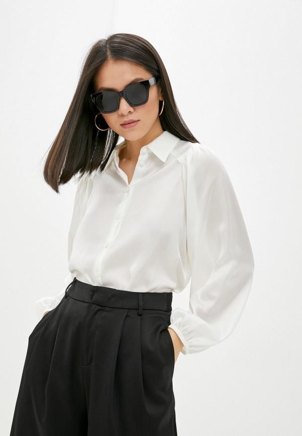 женская блузка с длинным рукавом vittoria vicci, белая