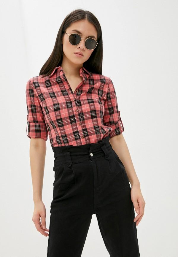 женская рубашка с длинным рукавом vittoria vicci, розовая