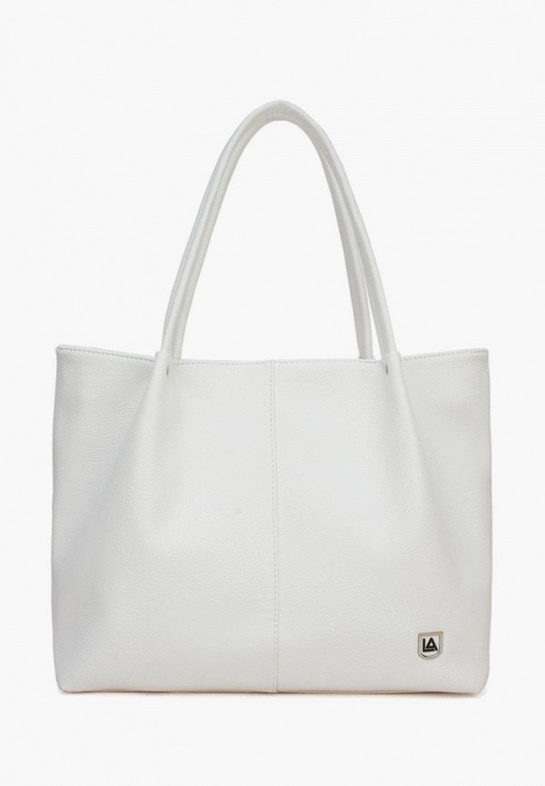 женская сумка-шоперы laccoma, белая