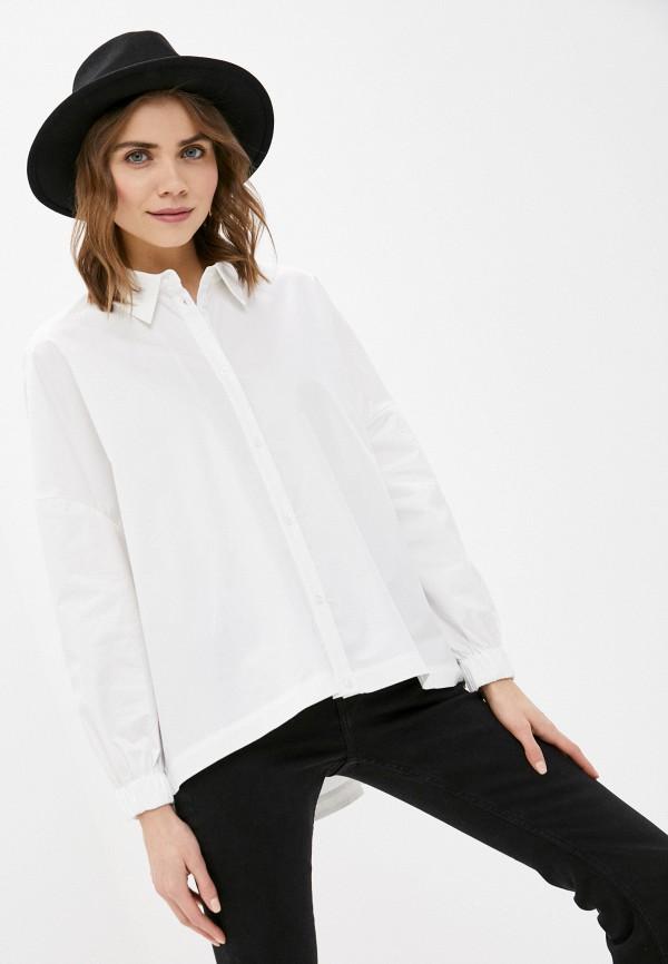 женская рубашка sela, белая