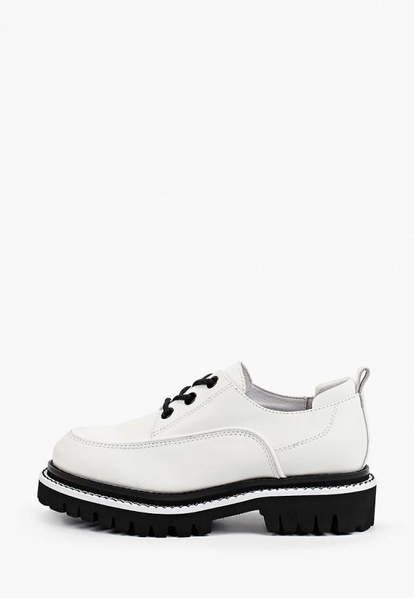 женские низкие ботинки graciana, белые