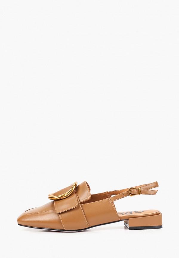 женские туфли graciana, коричневые