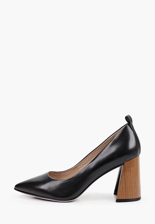 женские туфли с закрытым носом graciana, черные
