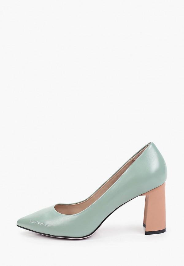 женские туфли с закрытым носом graciana, бирюзовые