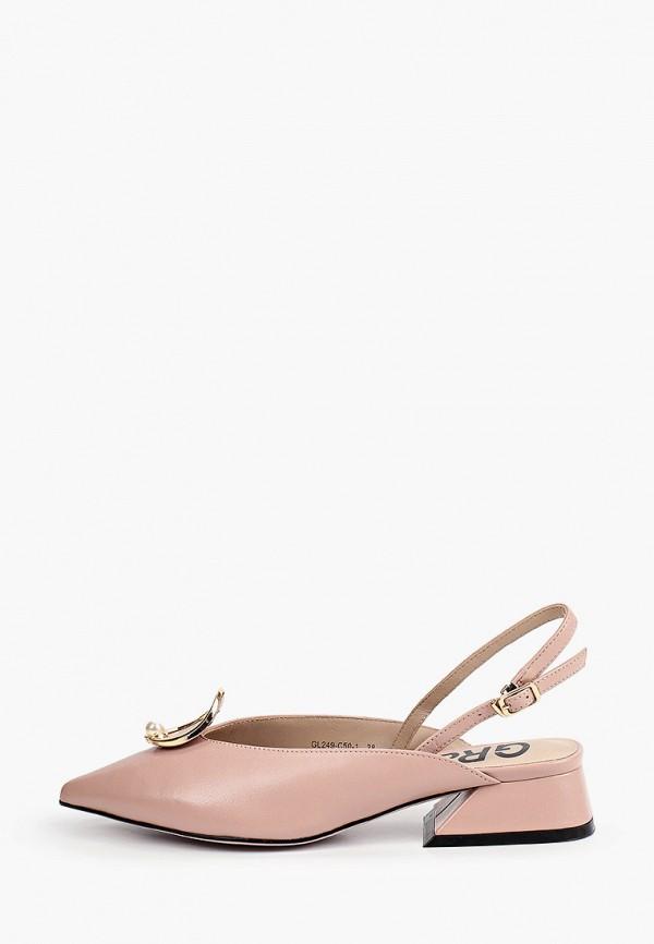 женские туфли graciana, розовые