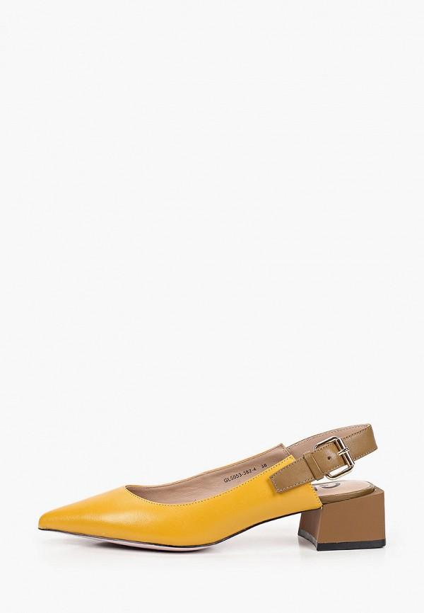 женские туфли graciana, желтые